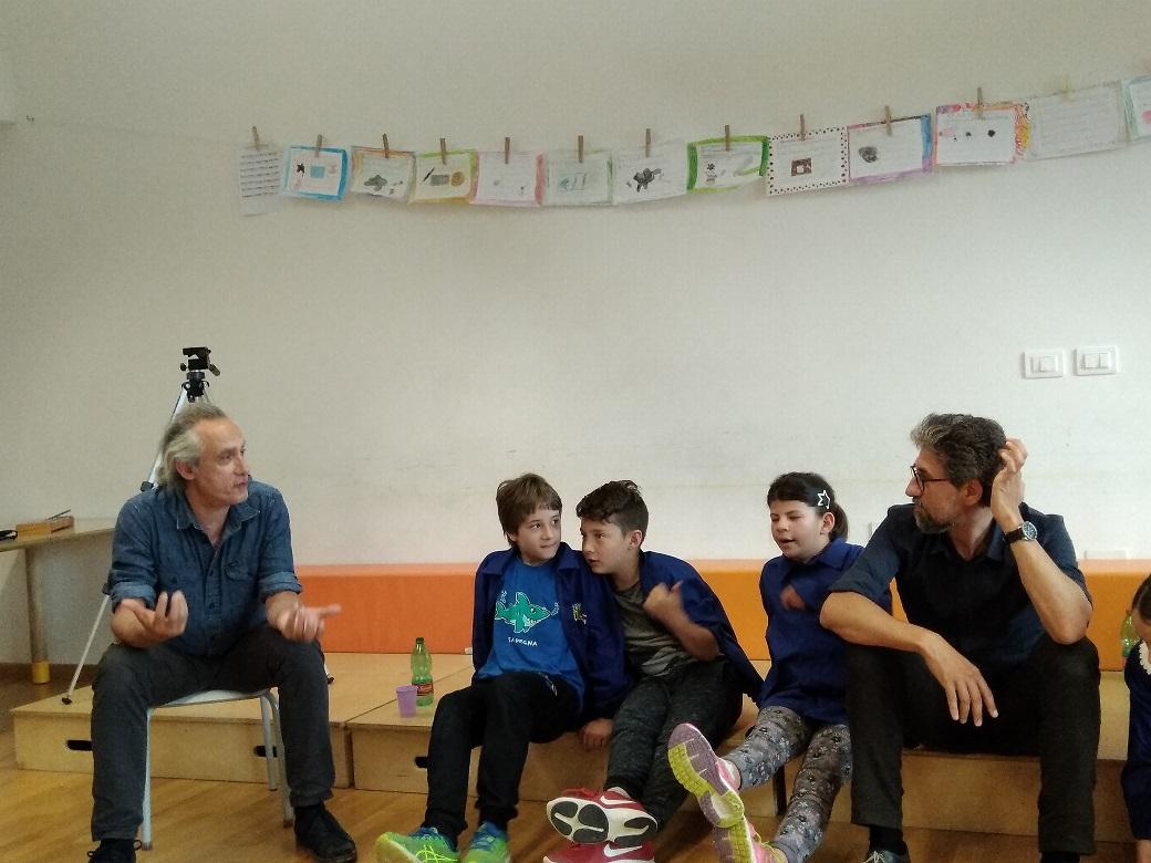 quarta B con Marco Vichi e Lorenzo Degl'Innocenti